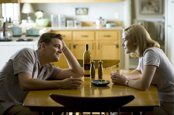 Leo and Kate reunite in Revolutionary Road, out 12/26 limited and 1/9 nationally