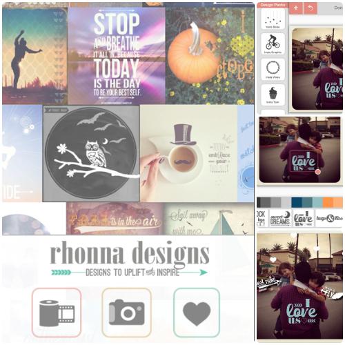 Rhonna Designs - Photo-editing app