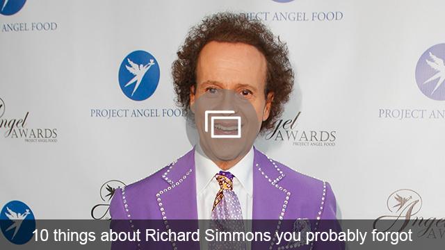 Richard Simmons facts slideshow