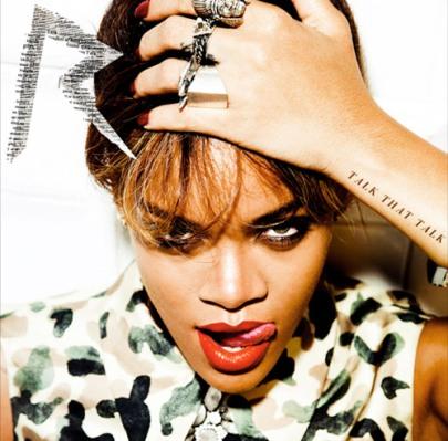Rihanna's Talk That Talk (TTT) album cover