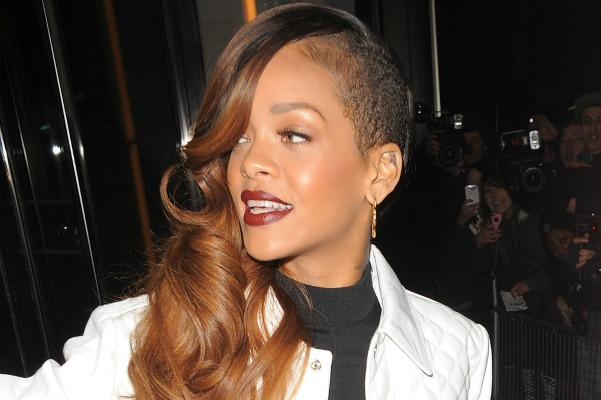 Rihanna and stars with half-shaved hairstyles