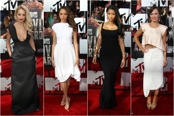 Rita Ora fashion at the MTV Movie Awards