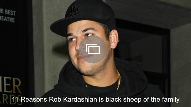 Rob Kardashian slideshow