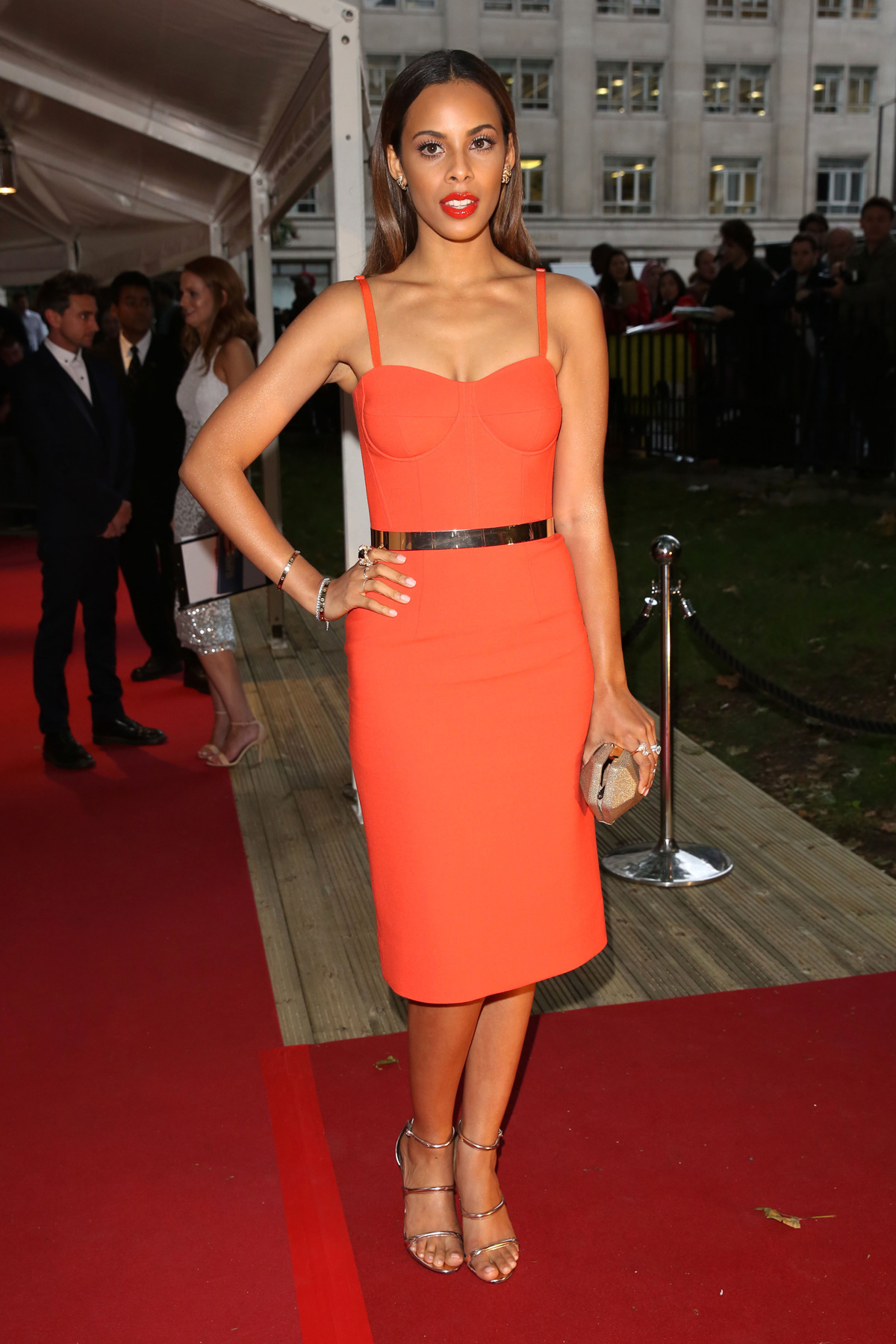 Rochelle Humes at the Glamour Women of the Year Awards