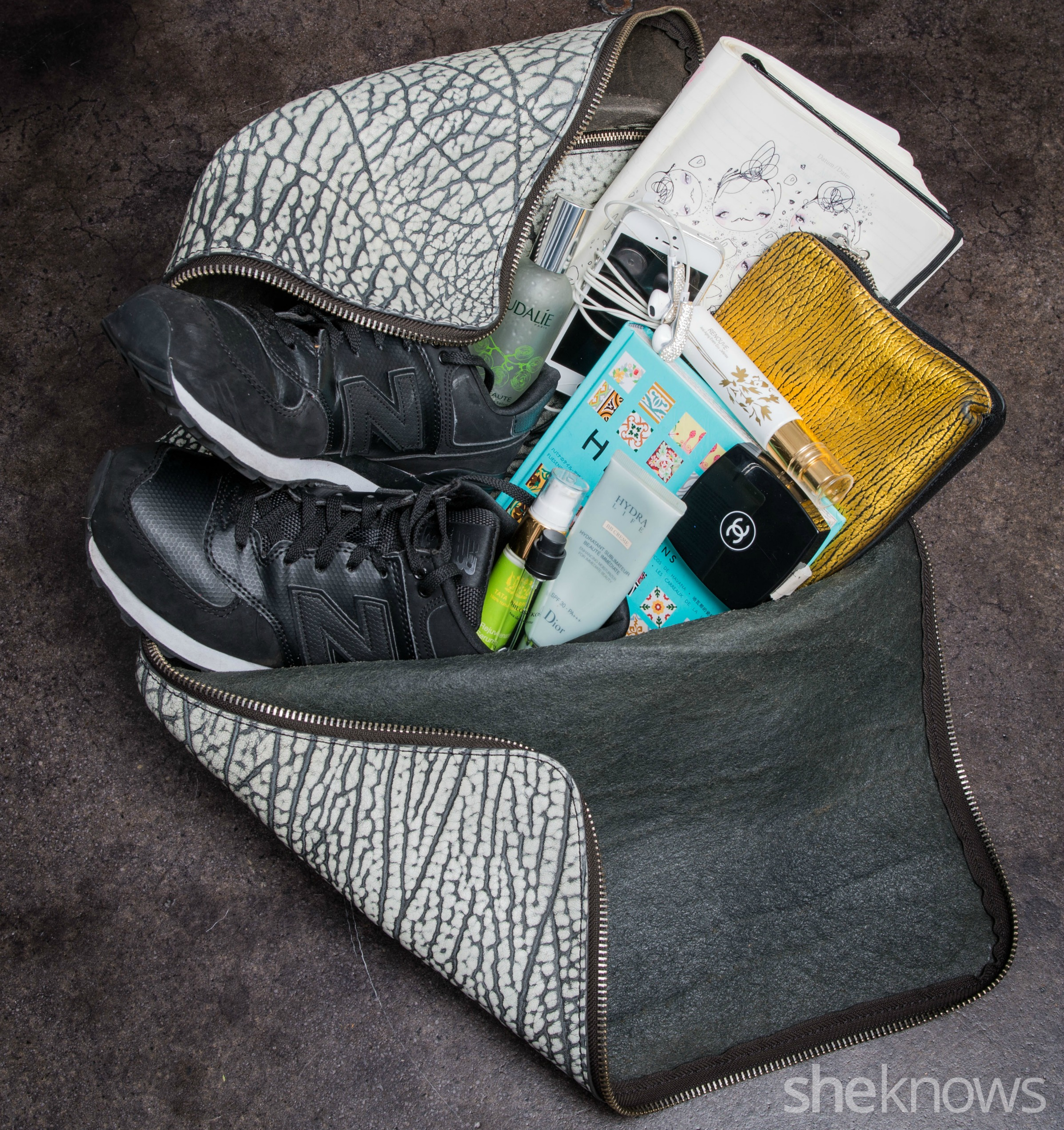 What's in my gym bag Rolando