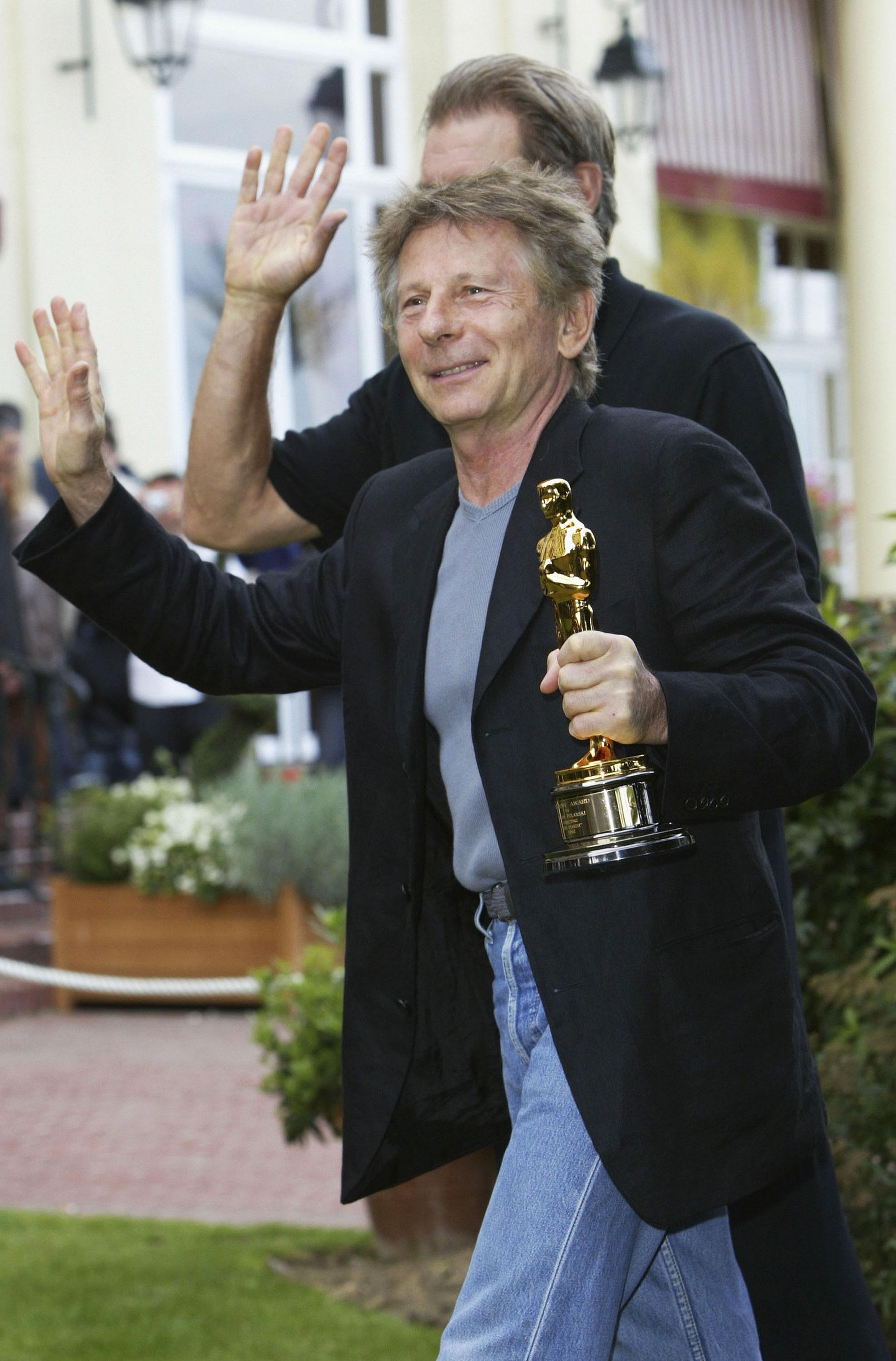 Roman Polanski 2003 Oscar win