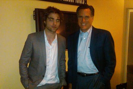 Mitt Romney admits that he likes Twilight