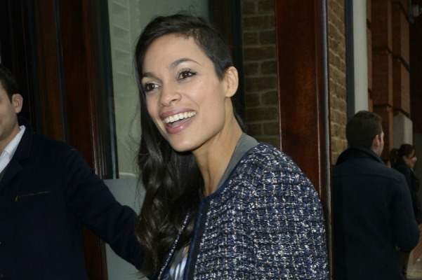 Rosario Dawson and stars with half-shaved hairstyles