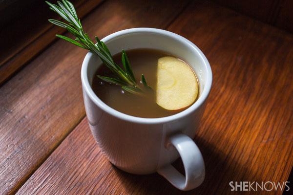 Rosemary tea cider