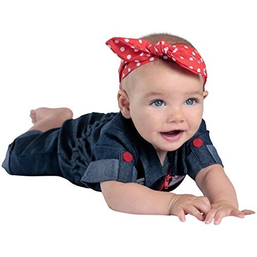 Cute Halloween costumes for babies: Rosie the Riveter