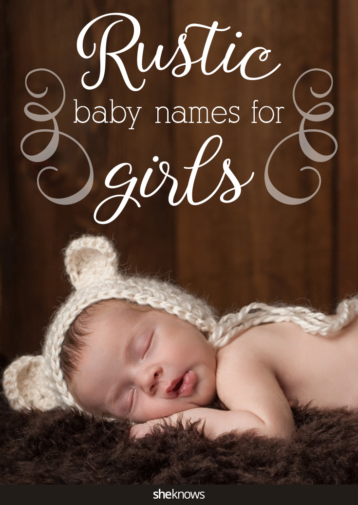 rustic baby names for girls