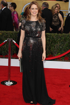 Jenna Fischer at the 2013 SAG Awards