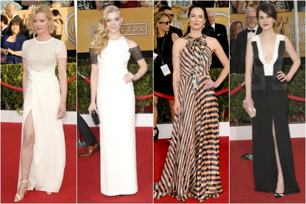 Best dressed from the SAG Awards