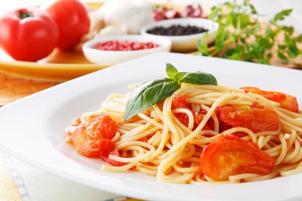 Roasted Tomato Fettucine