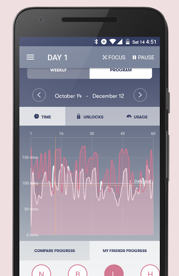 SPACE app screenshot