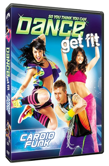 The SYTYCD Get Fit: Cardio and Funk DVD is out now