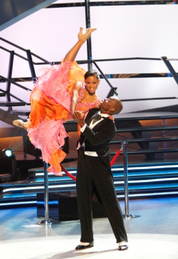 Karla and Vitolio's quick step was a killer