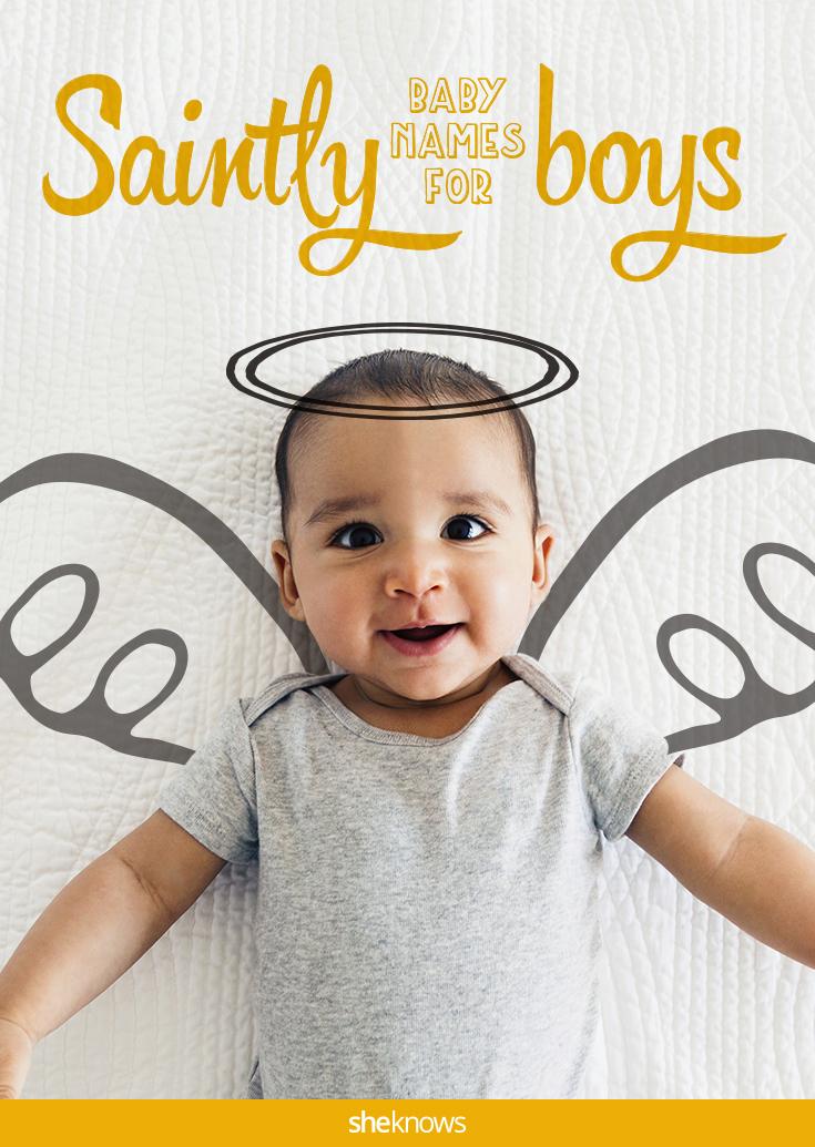 saintly names for boys