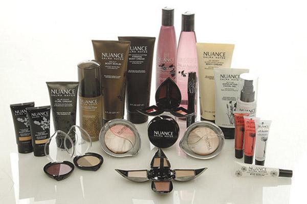 Salma Hayek's Nuance Cosmetics for CVS