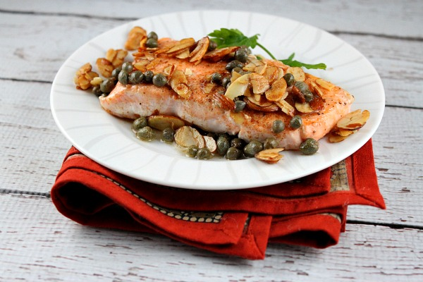 brown butter salmon