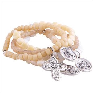 sanddune recycled glass bracelet