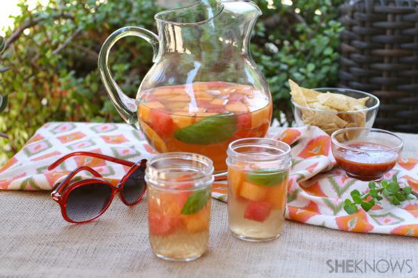 Summer melon sangria recipe