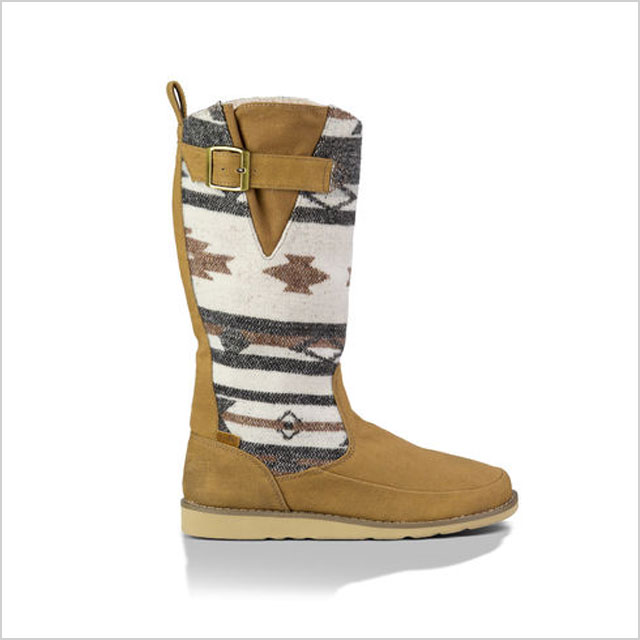 Sanuk Siena Boot in Natural Navajo