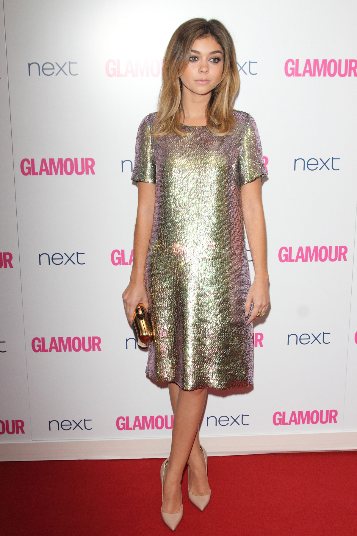 Sarah Hyland at the Glamour Women of the Year Awards