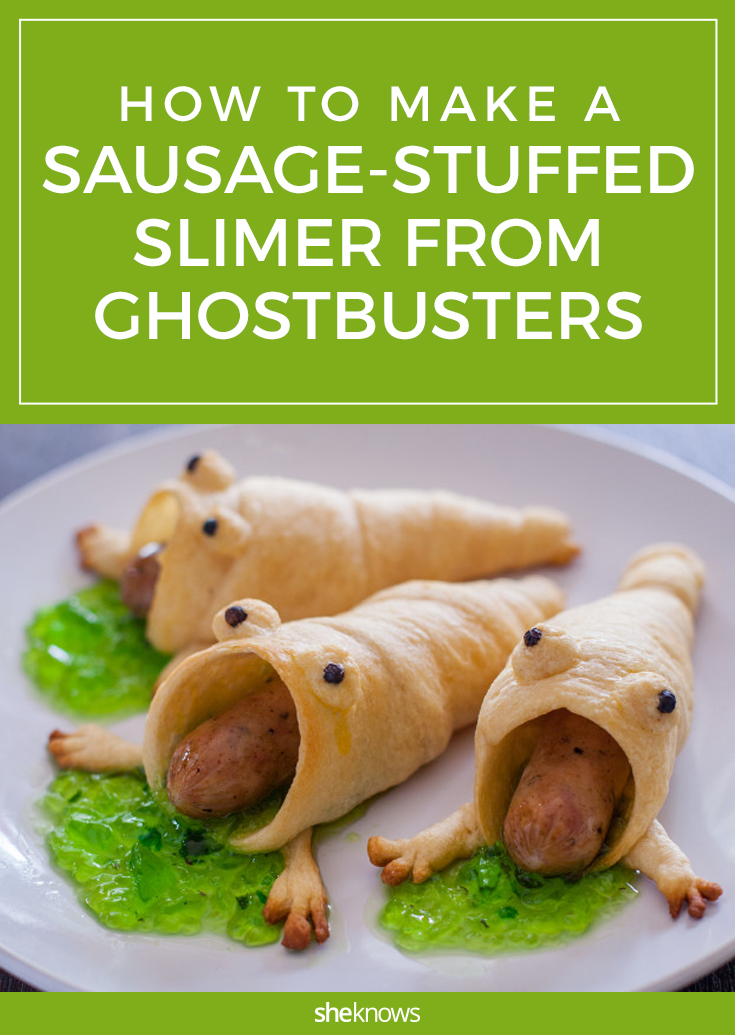 ghostbusters sausage monster
