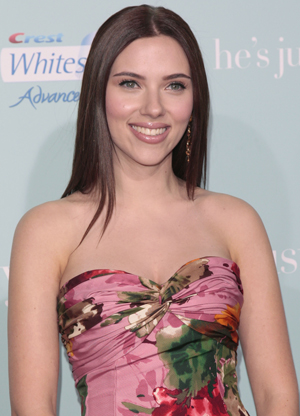 Scarlett at the film's premiere
