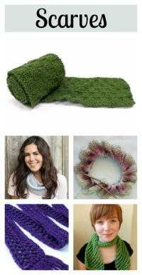 5 knit scarf tutorials