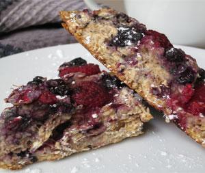Fruit filled oat scones 2