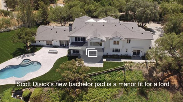 Scott Disick's new bachelor pad is a manor fit for a lord