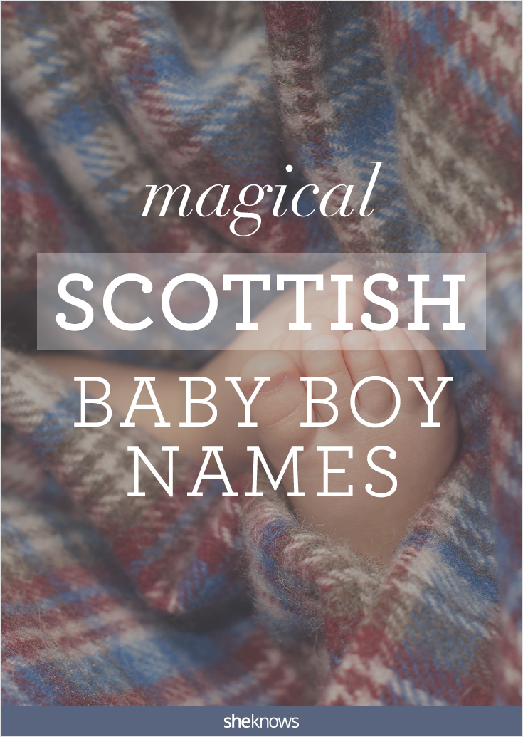 scottish baby boy names