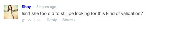 Kate Hudson bikini pic comment