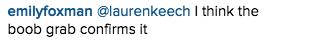 Kourtney Kardashian Instagram comment