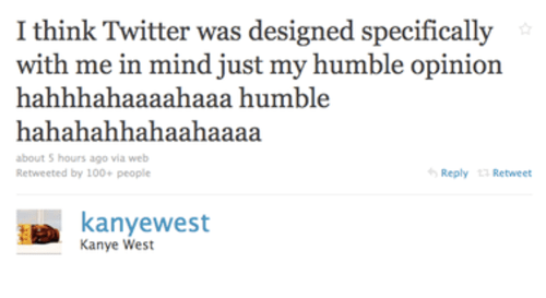 Kanye West on how Twitter was designed specifically for him