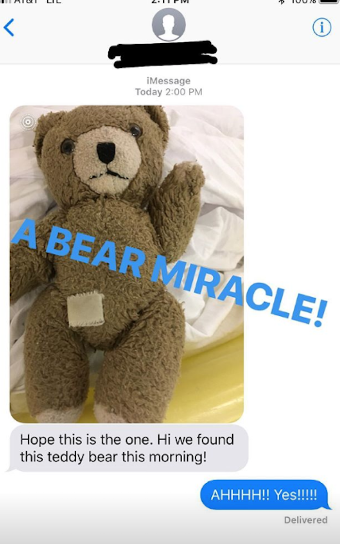 Busy Phillips Missing Bear