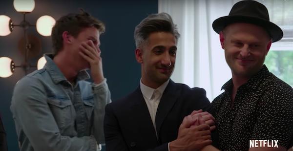 Antoni Porowski cries at words of a Queer Eye Season 2 hero