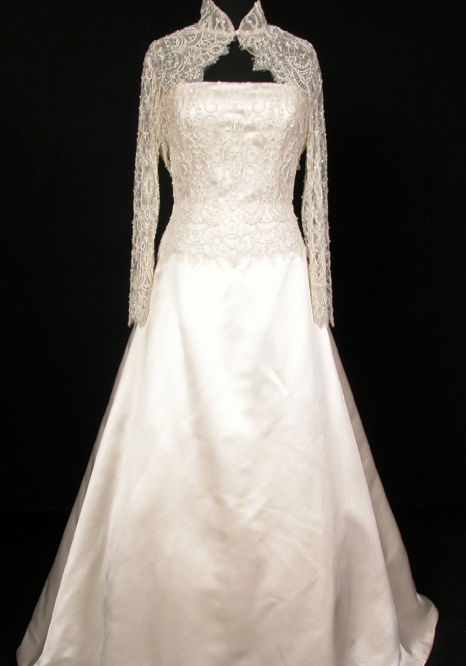 Grace of Monaco's royal wedding dress
