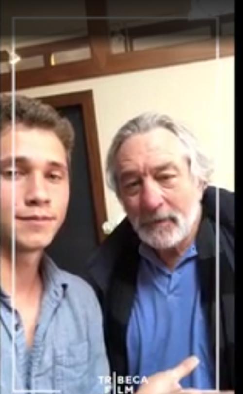 Robert De Niro Snapchat