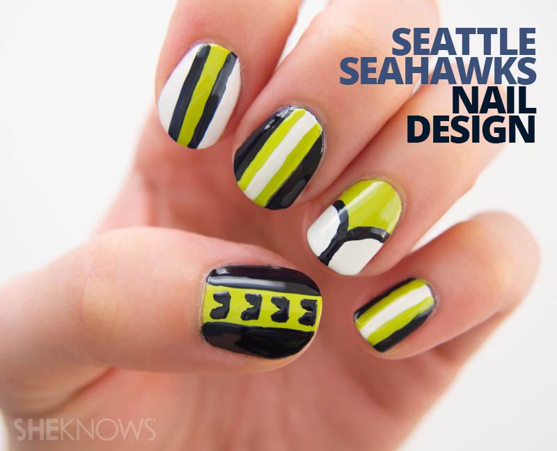Seattle Seahawks fan-icure