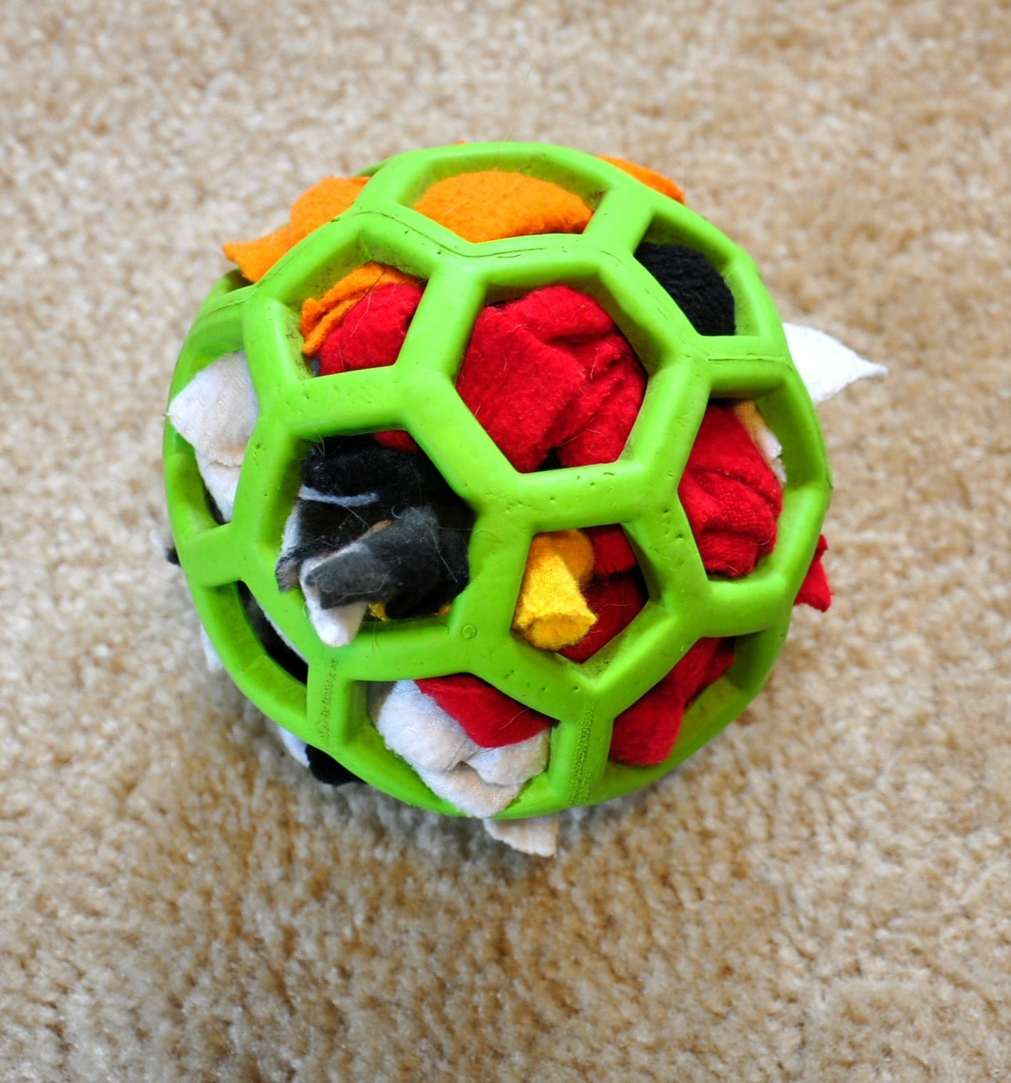 Semi-destructible stuffed toy