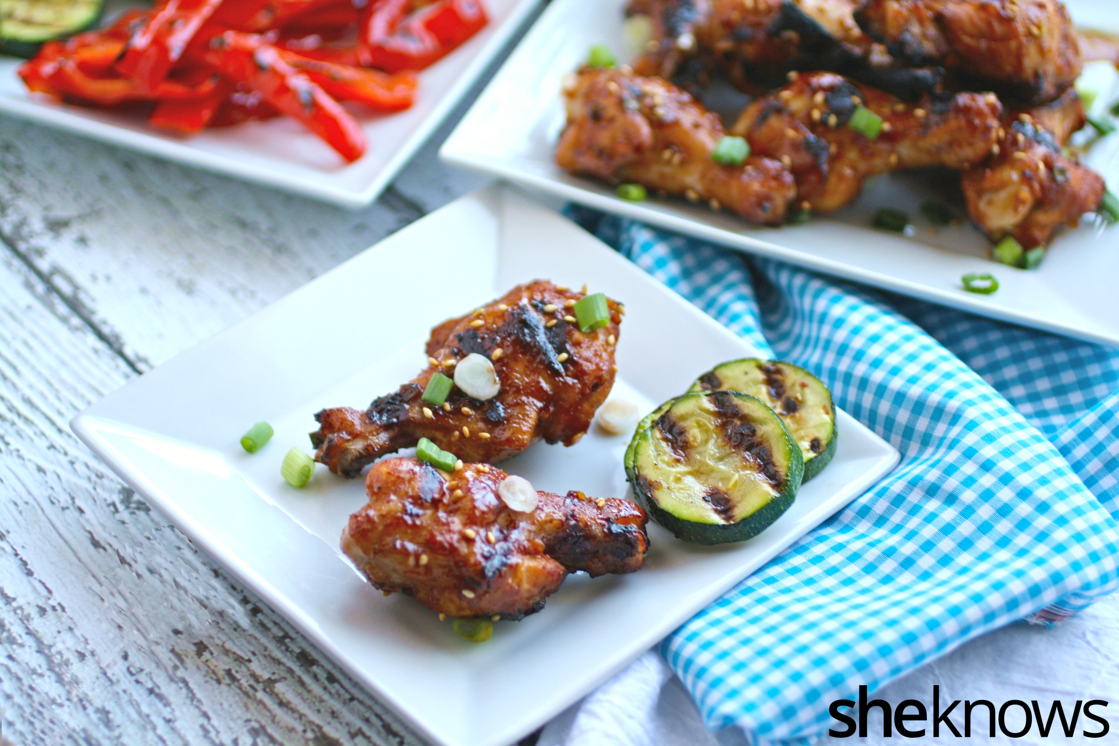 You'll love the flavors in Korean barbecue chicken