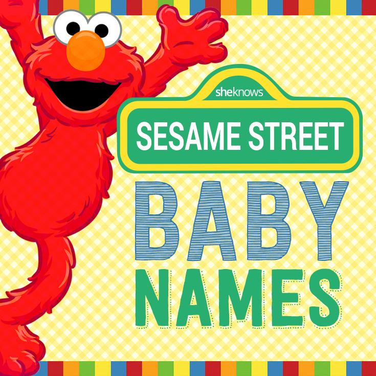 Sesame Street baby names