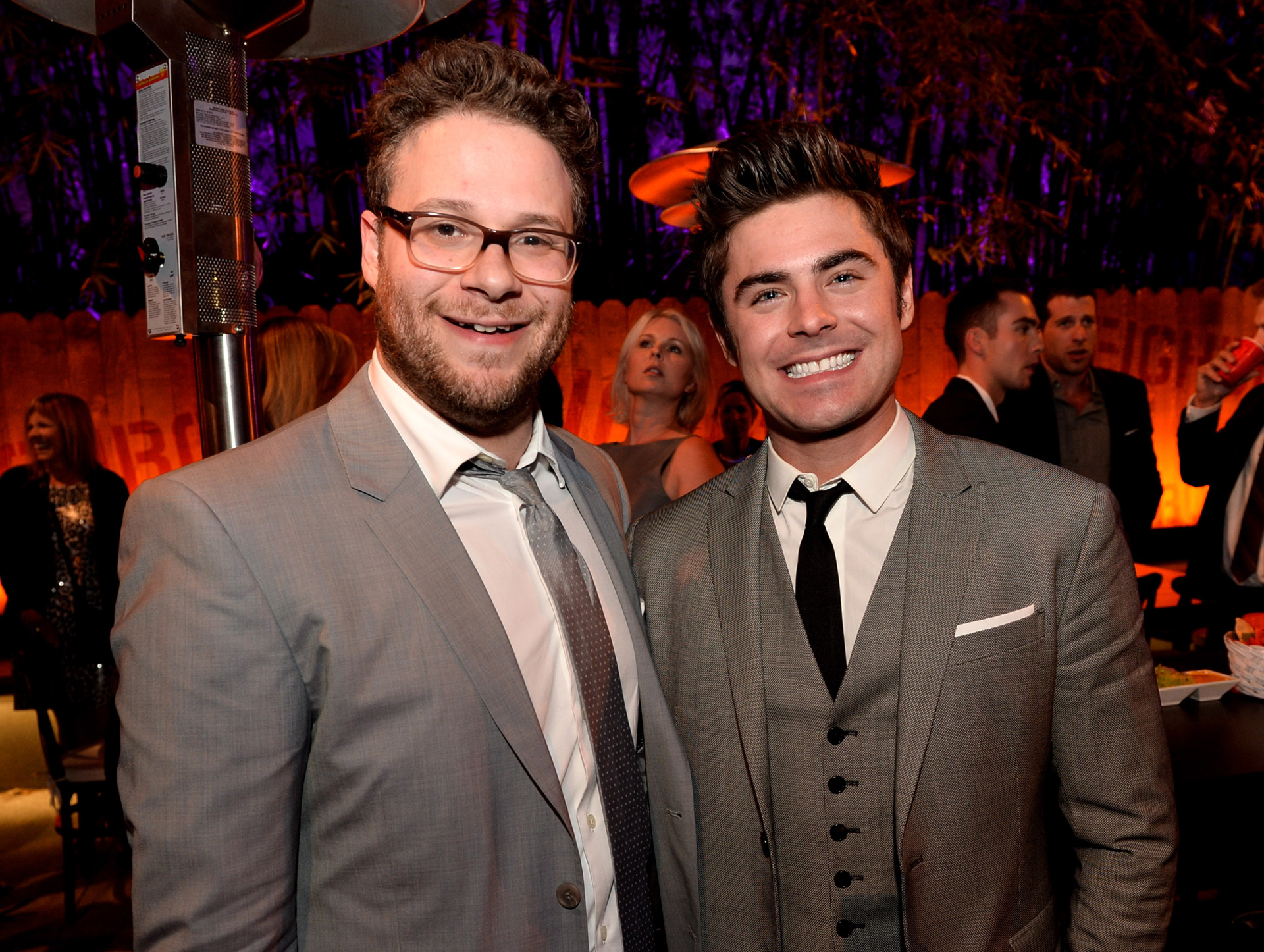 Seth Rogen and Zac Efron