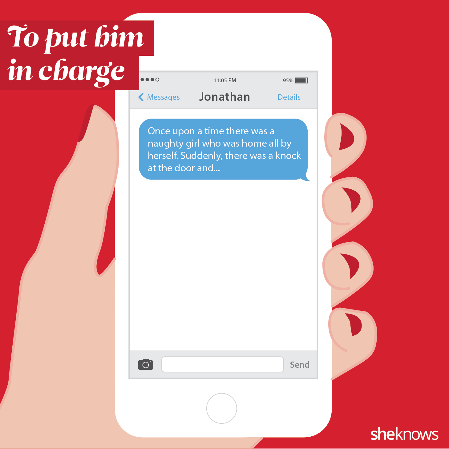 How to start phone sexting