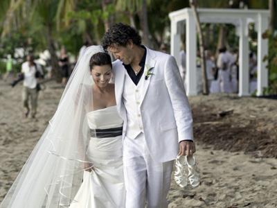 Shania Twain wedding photos