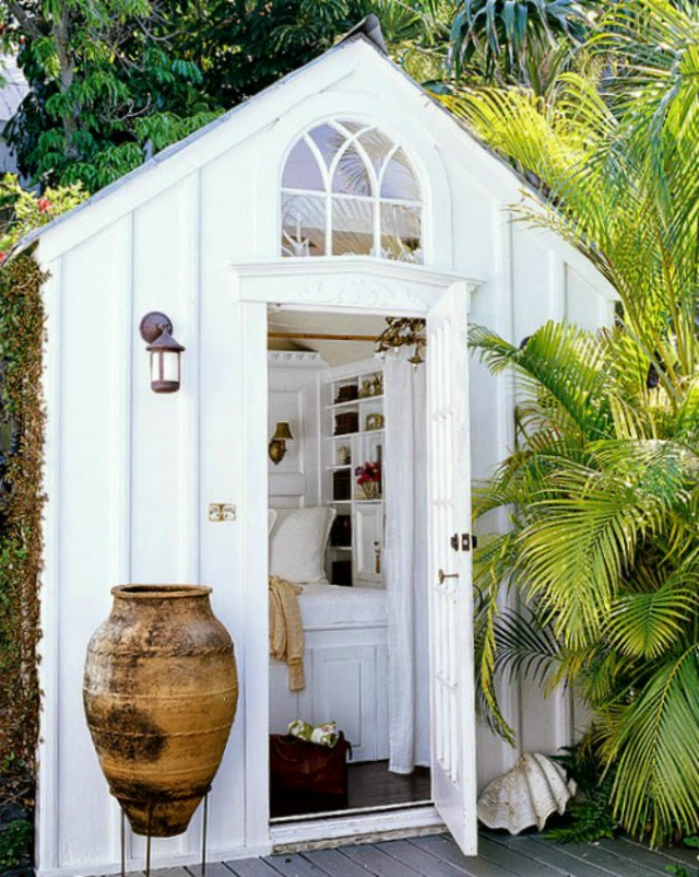 She shed via Ciao! Newport Beach