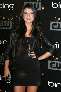 Shenae Grimes is Liam's love interest on the CW's 90210